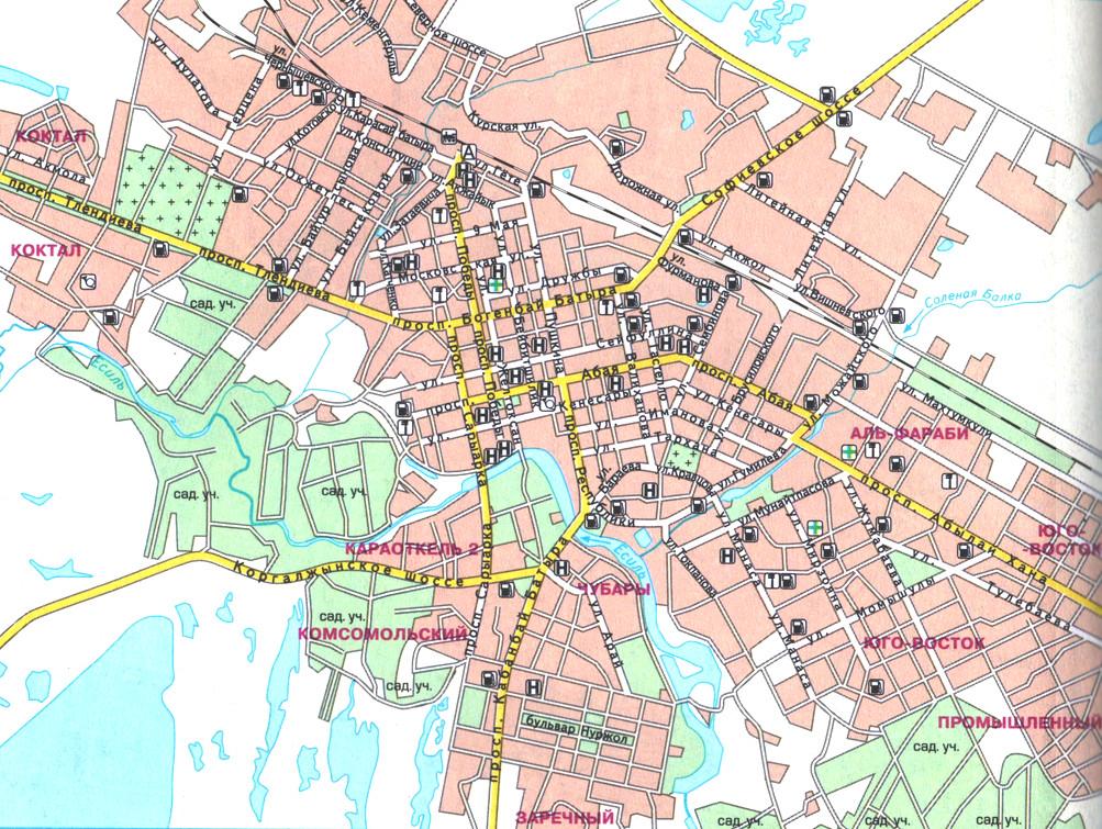 Название улиц схема домов